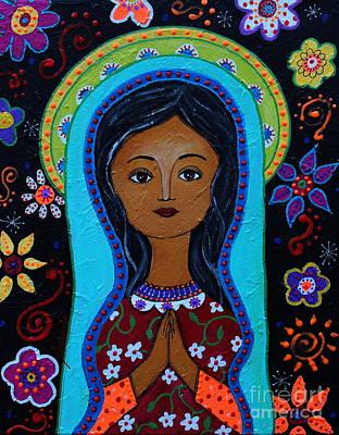 Virgin Guadalupe 10 Poster by Pristine Cartera Turkus