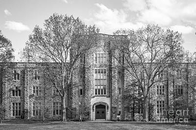 Virginia Tech Seitz Hall Poster by University Icons