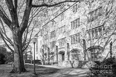 Virginia Tech Smyth Hall Poster by University Icons