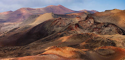 Volcanic Ridges Poster by Neil Buchan-Grant