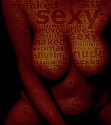 Voluptuous Sexy Talk Poster by James Barnes