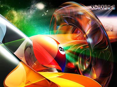 Vortex9 Poster by Draw Shots