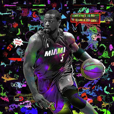 Wade On Pop Poster by Adrian Eguis