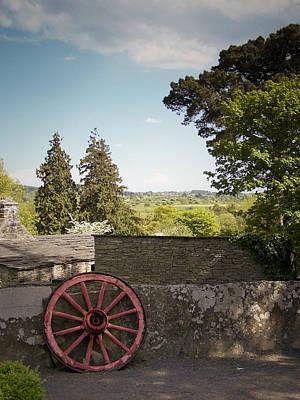 Wagon Wheel County Clare Ireland Poster by Teresa Mucha