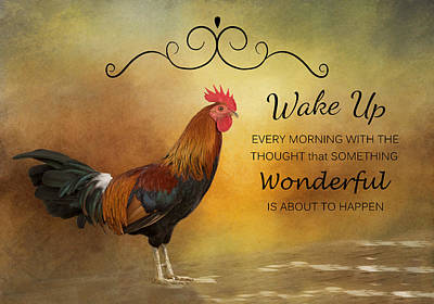 Wake Up Poster by Kim Hojnacki