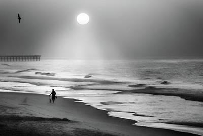 Walk Beneath The Moon Poster by Karen Wiles