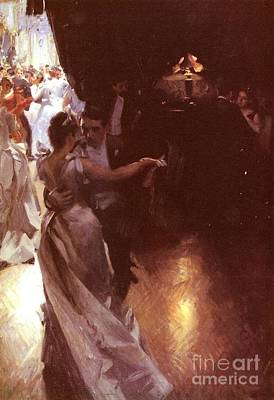 Waltz Poster by Anders Zorn