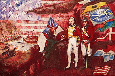 War Of 1812 Poster by Dean Gleisberg