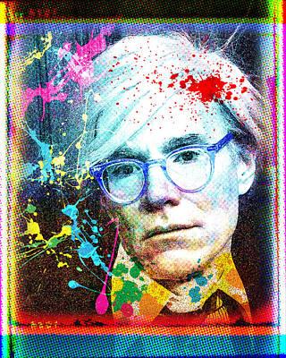Warhol Portrait Poster by Gary Grayson