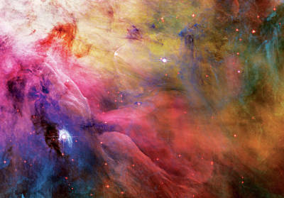 Warmth - Orion Nebula Poster by The  Vault - Jennifer Rondinelli Reilly