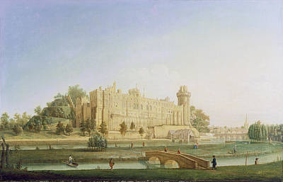 Warwick Castle Poster by Francis Harding