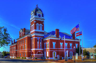 Built In 1869 Washington County Courthouse Art Poster by Reid Callaway