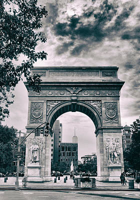 Washington Square Arch Poster by Jessica Jenney