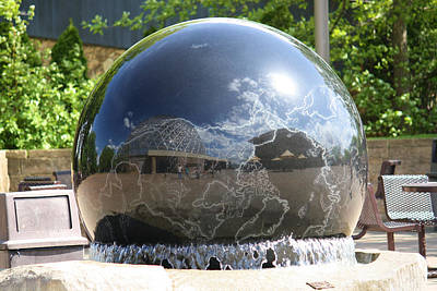 Water Globe Poster by Karen M Scovill