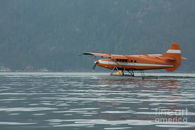 Water Plane Poster by Patricia Hofmeester