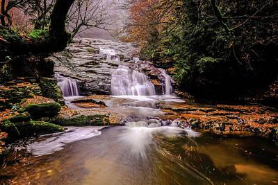 Waterfall-10 Poster by Okan YILMAZ