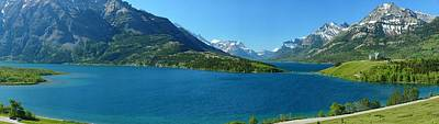 Waterton Gigapan Panorama Poster by Dave Belcher