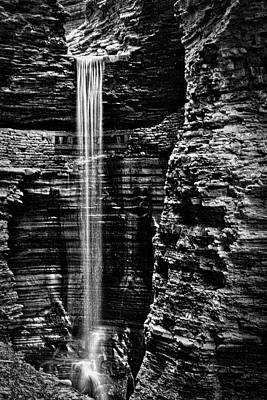Watkins Glen Cavern Cascade Waterfall #5 Poster by Stuart Litoff