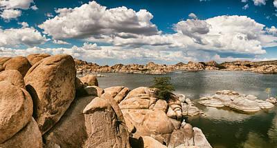 Watson Lake Panorama Poster by Jason Dodson