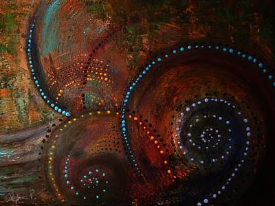 Waves Of Arousal  Poster by Sylvia  Pekarek