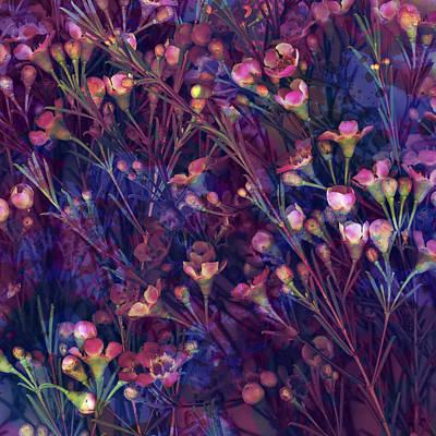 Waxflower Garden Poster by Susanne Kasielke