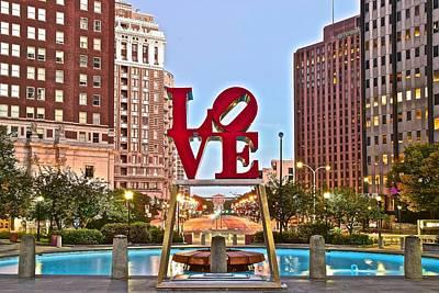 We Love Philadelphia Poster by Skyline Photos of America