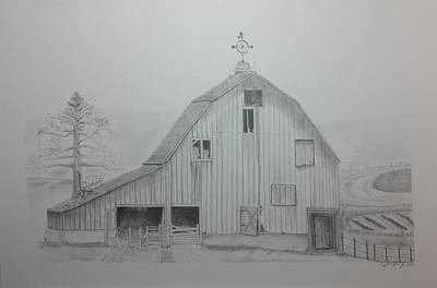 Weathered The Barn Poster by Daniel Kraus