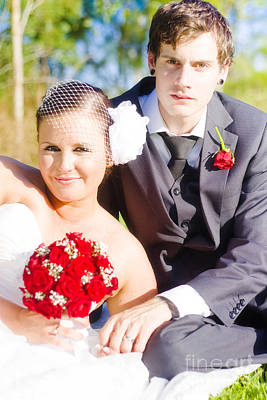Wedding Portrait Poster by Jorgo Photography - Wall Art Gallery