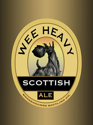 Wee Heavy Scottish Ale Poster by John LaFree
