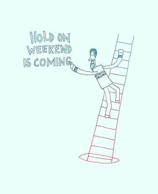 Weekend Hero Poster by Illustratorial Pulse