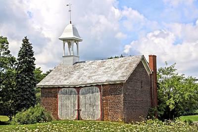 Werley's Corner Schoolhouse/barn Poster by DJ Florek