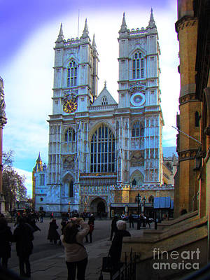 Westminster Abbey, London, England Poster by Al Bourassa