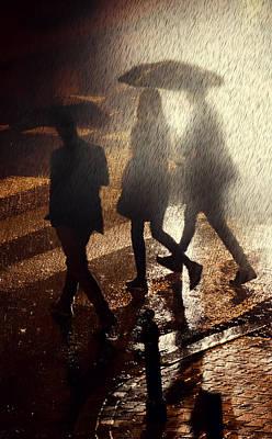 When The Rain Comes Poster by Jaroslaw Blaminsky