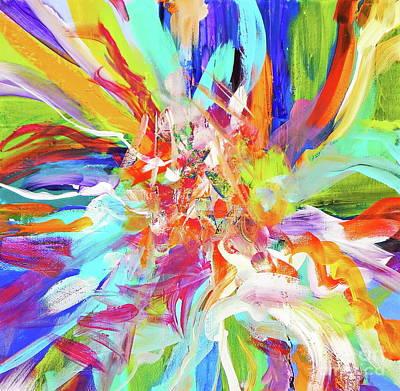 When They Dance ... Poster by Expressionistartstudio Priscilla-Batzell