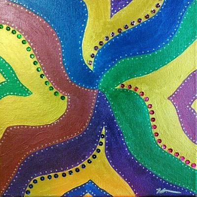 Whimsical Pinwheel Poster by Kat Haus Designs