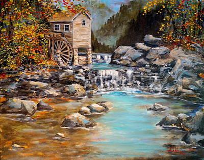 Whisper Run Mill Poster by Alan Lakin