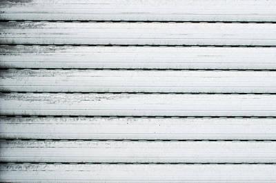 White Metal Poster by Tom Gowanlock
