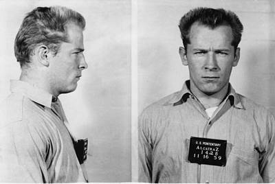 Whitey Bulger Mug Shot Poster by Edward Fielding