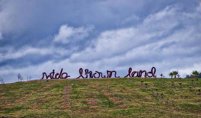 Wide Brown Land - Canberra - Australia Poster by Steven Ralser