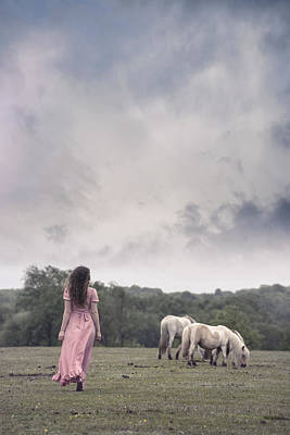 Wild Ponies Poster by Joana Kruse