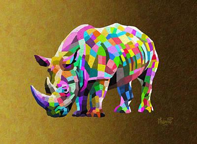Wild Rainbow Poster by Anthony Mwangi