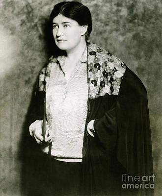 Willa Cather, American Author Poster by Photo Researchers