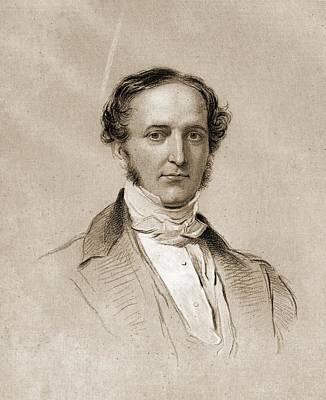 William H. Prescott, 1796-1859. English Poster by Vintage Design Pics