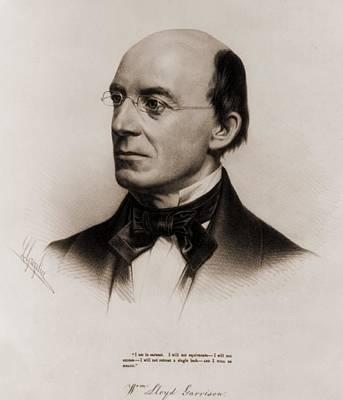 William Lloyd Garrison 1805-1879 Joined Poster by Everett