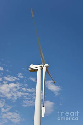 Wind Turbine Poster by George Atsametakis