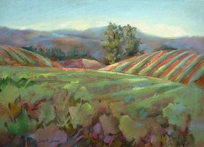 Wine Country Poster by Joan  Jones