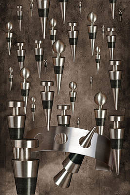 Wine Stopper Storm Poster by Tom Mc Nemar