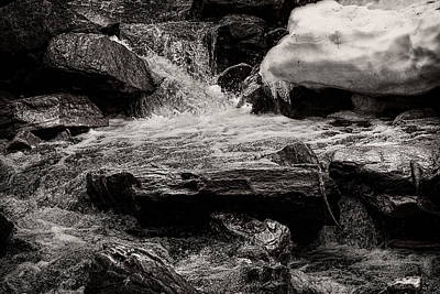Winter Brook Poster by Bob Orsillo