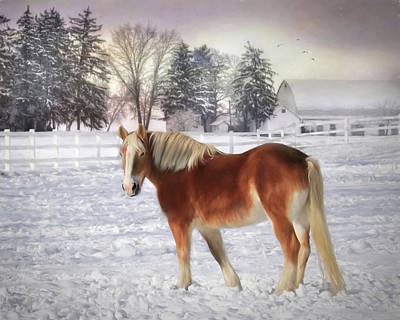 Winter Coat Poster by Lori Deiter