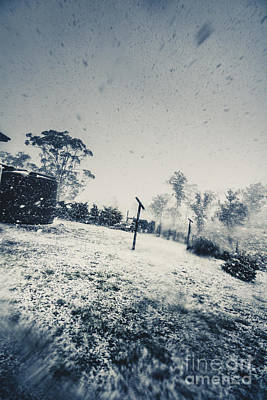 Winter Freeze Poster by Jorgo Photography - Wall Art Gallery